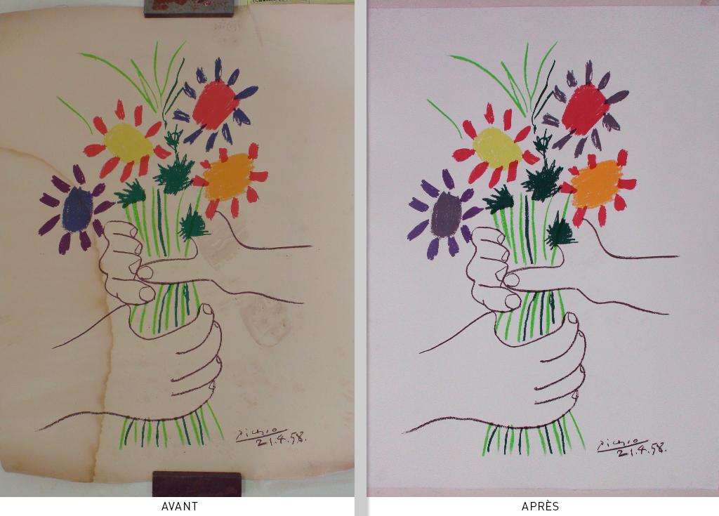 Lithographie de Picasso